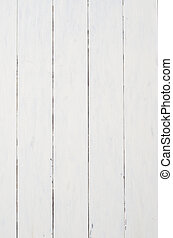Old Painted Planking Background - A badly painted patchy...