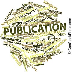 Publication - Abstract word cloud for Publication with...