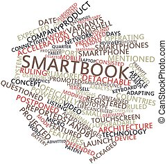 Smartbook - Abstract word cloud for Smartbook with related...