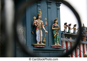 Hindu God - Sri Srinivasa Temple, Singapore