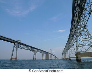 Chesapeake Bay Bridge, annapolis, maryland, usa