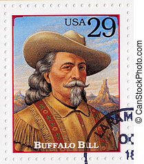 USA - CIRCA 1994 : Stamp printed in the USA shows portrait...
