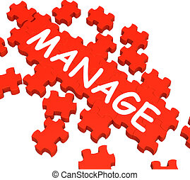 Manage Puzzle Shows Company Supervising