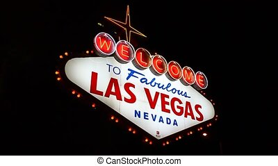 Welcome to Fabulous Las Vegas - The famous Welcome to...