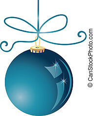 Christmas ball vector stock