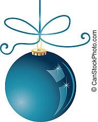 Christmas ball vector stock