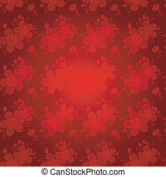 Oriental Chinese Seamless Pattern - Oriental Chinese New...