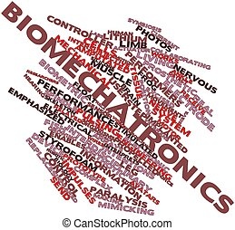Word cloud for Biomechatronics - Abstract word cloud for...