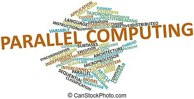 Word cloud for Parallel computing - Abstract word cloud for...