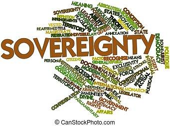 palabra, nube, soberanía