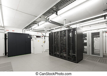 Small air-conditioned server room - Small air-conditioned...