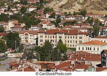 Cityscape of Kastamonu, Turkey
