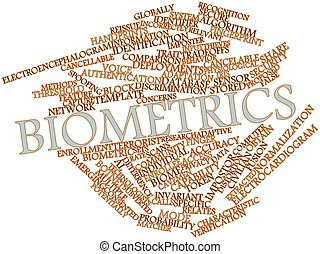 Word cloud for Biometrics - Abstract word cloud for...