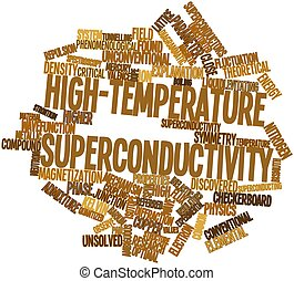 palabra, nube, High-temperature, superconductividad