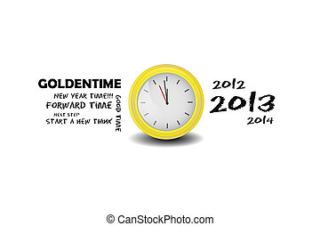 Golden time - The Golden time vector for your retouch or put...