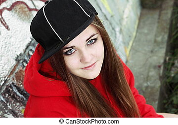 Urban Teenager Young Adult Woman