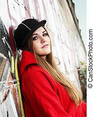 Urban Teenager Beautiful Girl