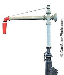 Steam Train Locomotive Engine Water Crane Column Standpipe...