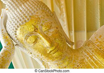 sueño, Buddha, Tailandia