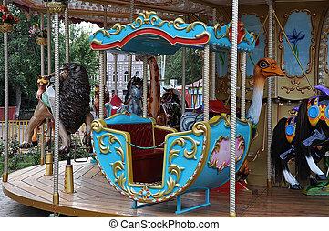 Children's carousel fragments