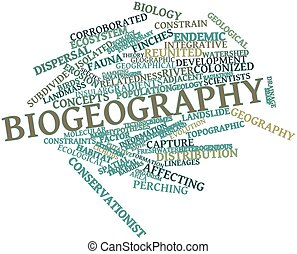 Word cloud for Biogeography - Abstract word cloud for...