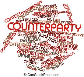 Word cloud for Counterparty - Abstract word cloud for...