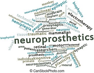 Word cloud for Neuroprosthetics - Abstract word cloud for...