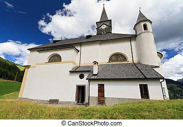 church in Laste