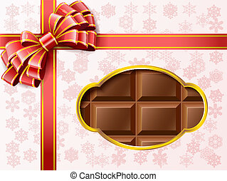 Chocolate gift box.