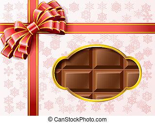 Chocolate gift box.