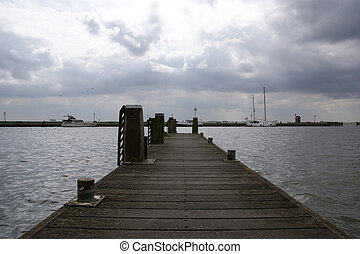 Volendam is a town in North Holland in the Netherlands, in...