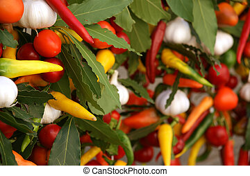 Assortment of fresh vegetables