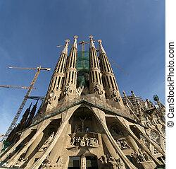 SAGRADA, Familia, Antoni, Gaudi, Barcelona, españa