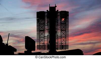 Modern Russian radar is designed and automatic tracking of...