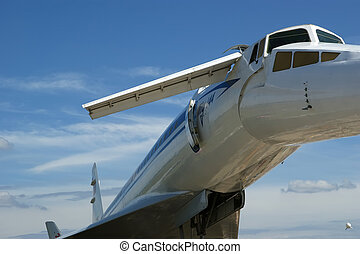 The Tupolev Tu-144 NATO name: Charger was a Soviet...