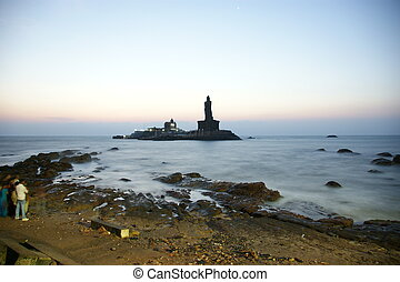 southernmost point of India. Comorin or Kanyakumari,...