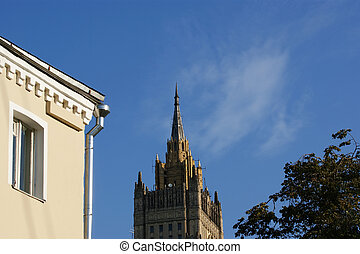 Building of the Ministry for Foreign Affairs of Russia