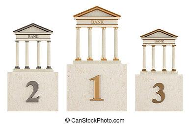 Bank  podium