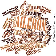 Aileron - Abstract word cloud for Aileron with related tags...