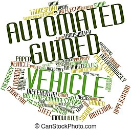 Automated guided vehicle - Abstract word cloud for Automated...