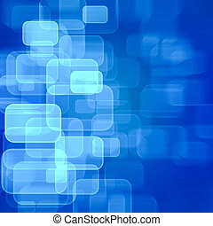 Blue technology background - Abstract blue technology...