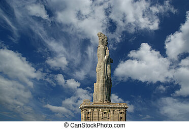 Thiruvalluvar statue, Kanyakumari, Tamilnadu, India