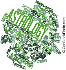 Astrology - Abstract word cloud for Astrology with related...