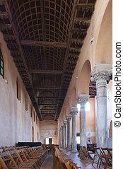 Euphrasian basilica, Porec, Istria, Croatia. Included in the...