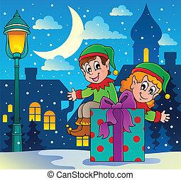 Christmas elf theme 4