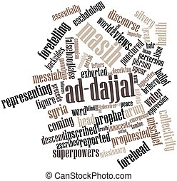 Word cloud for Masih ad-Dajjal - Abstract word cloud for...