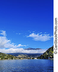 Como Lake, Lombardy, Italy - Photo was taken during the...