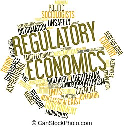 Word cloud for Regulatory economics - Abstract word cloud...