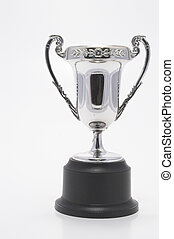 Trophy - Championship Cup - A silver championship cup,...