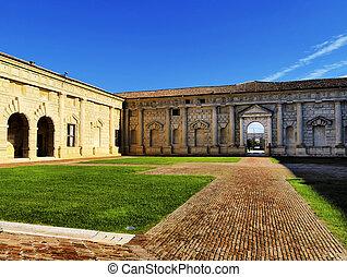 Palazzo Te, Mantua, Lombardy, Italy